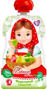 Упаковка пюре Аленка Любит Фруктовий салат 90 г x 12 шт. (14813163004173)