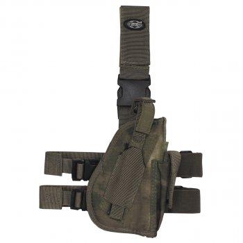 Кобура для пистолета набедренная регулируемая правосторонняя MFH HDT-camo FG (30725E)