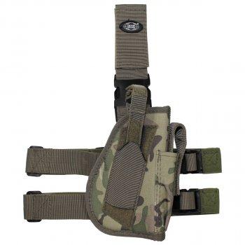 Кобура для пистолета набедренная регулируемая правосторонняя MFH мультикам (30725X)