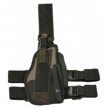 Кобура для пистолета набедренная регулируемая правосторонняя MFH CCE camo (30725I)