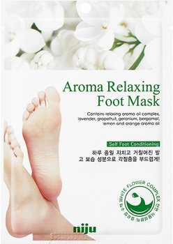 Маска для ног Konad Niju Aroma Relaxing Foot Mask pack 18 мл (8809109831902)