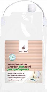 Універсальний мийний екозасіб для прибирання TORTILLA з антибактеріальною дією 4.7 л (4820178062480)