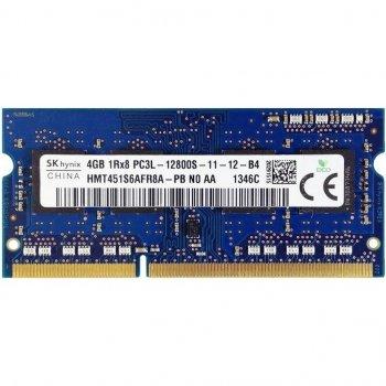 пам'ять DDR3 SO-DIMM Hynix 1600 4Gb C11 (HMT451S6AFR8A-PB) 1.35 v