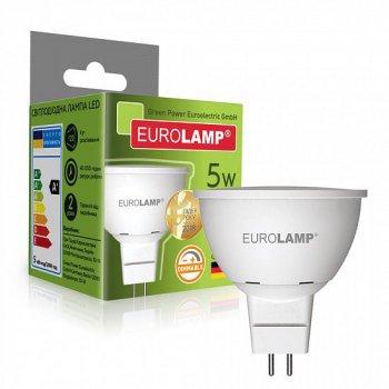 Светодиодная лампа (LED) Eurolamp 5W GU5.3 4000K (LED-SMD-05534(N)dim)
