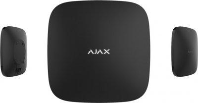 Інтелектуальна централь Ajax Hub Plus Black (GSM + Ethernet + Wi-Fi + 3G) (000012233)