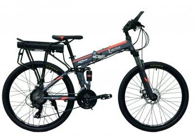 "Электровелосипед складной E-motion 36V 12Ah 500W / рама алюминиевая 17"" серо-оранжевый (ESE3612500A17SO)"