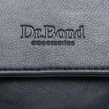 Мужская сумка через плечо из кожзама DR BOND GL 3191 black