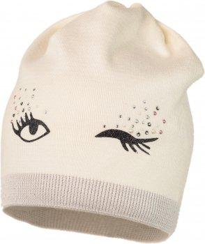 Демисезонная шапка Jamiks FRANELA-1 50 см Кремовая (5903024095487)
