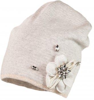 Демисезонная шапка Jamiks KAROLINA-1 54 см Серая (5903024099065)