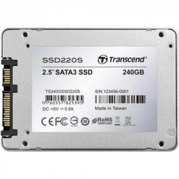 Накопитель Transcend SSD220S Premium (TS240GSSD220S) (WY36dnd-140081)
