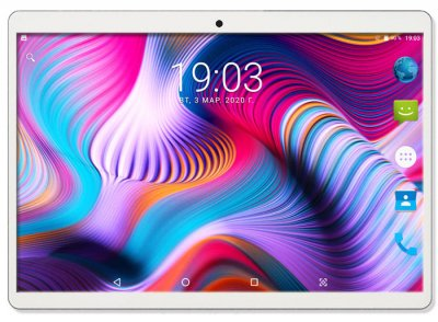 Планшет - телефон Adronix MT104 Silver 3GB/32GB LTE IPS 10/1'' Full HD+Чехол-клавиатура +Карта памяти 64GB