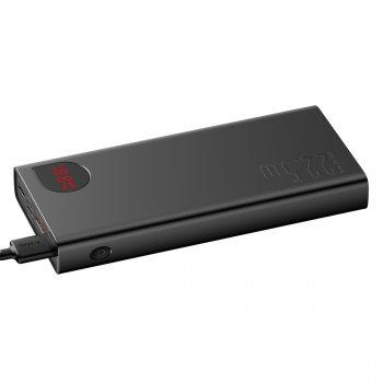 УМБ Baseus Adaman 20000mAh 22.5 W з технологією QC3.0+PD3.0 Чорний