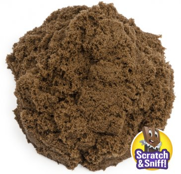 Набір піску для дитячої творчості Kinetic Sand Гарячий шоколад (71473H)
