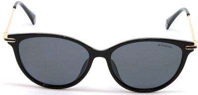 Солнцезащитные очки женские Polaroid PLD PLD 4085/F/S 80754M9 Черно-золотые (716736202082)