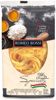 Макарони яєчні Romeo Rossi Реджінеле 250 г (8056598490794)