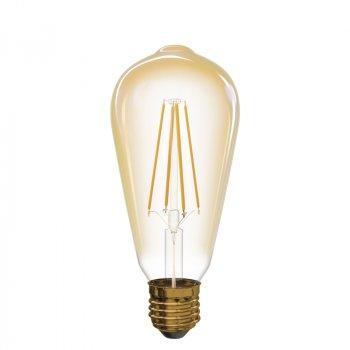 Світлодіодна лампа Emos LED Filament Vintage ST64 4W 2200K E27 (Z74302)