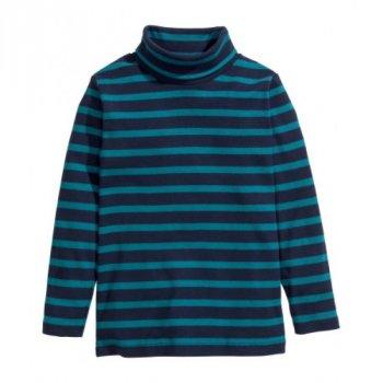 Гольф H&M для мальчика Синий в полоску