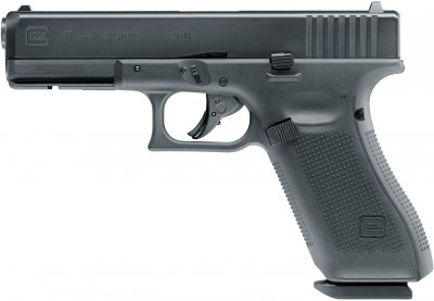 Пневматичний пістолет Umarex GLOCK 17 GEN5 4.5 мм (5.8369)