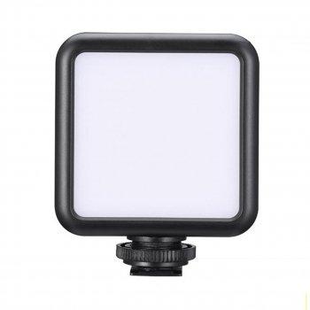 Свет Ulanzi W49 для фото-видеосъемки с креплением на камеру несколько режимов свечения