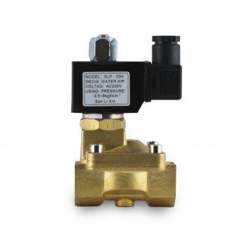 """Клапан 1"""" SV-2W-25c нормально-закритий соленоїдний електромагнітний непрямого дії 12V DC"""
