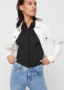 Куртка джинсовая ONLY 15197940-13 White