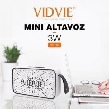 Беспроводная портативная Bluetooth колонка VIDVIE SP910 Белая