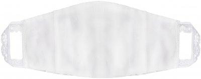 Защитная маска для лица Effetto многоразовая трехслойная женская МЕ-003 Белая (2000985168526)