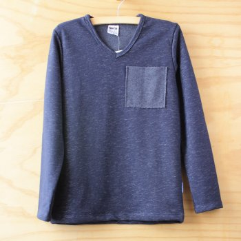 Пуловер для мальчика Фрэнк ОВЕН Темно-синий