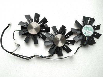 Вентилятор Apistek для видеокарты Zotac AMP Extreme GA92S2U комплект 3 шт (№136)