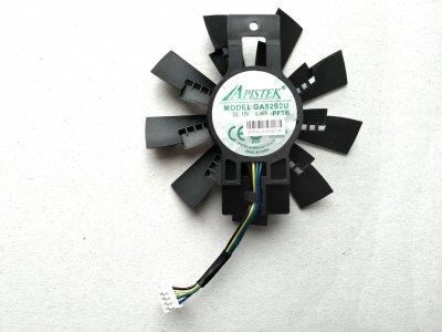 Вентилятор Apistek для видеокарты Zotac AMP Extreme GA92S2U (№88)