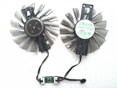 Вентилятор Apistek для видеокарты Palit GA92S2H (FD9015H12S) комплект 2 шт (№112)