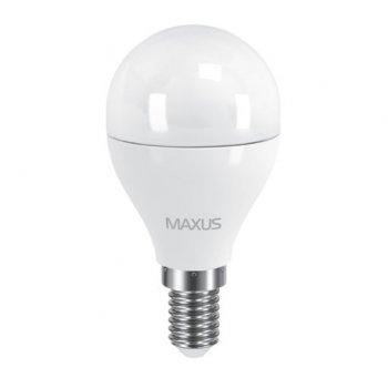 Лампа Maxus LED G45 F 6W 3000K E14 (11532871)