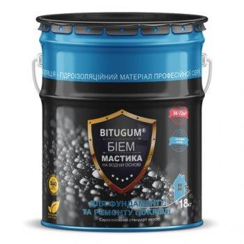 Мастика бітумна водоемульсійна Bitugum 18 кг 11452112
