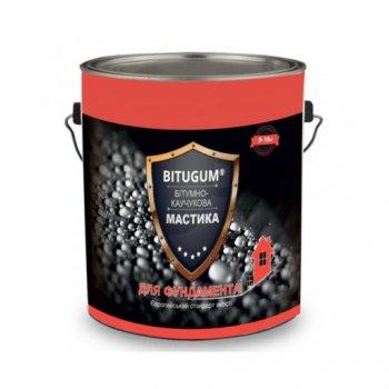 Мастика бітумна Bitugum фундамент 5 кг 11610921