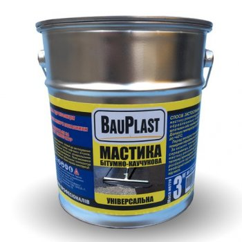 Мастика універсальна BauPlast 3 кг 11777955