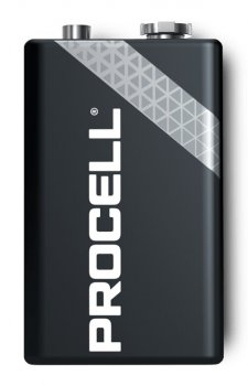 Батарейка щелочная Duracell Procell PC1604, 6LR61, 9V, Box 10шт