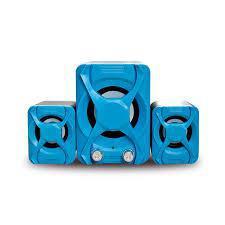 USB колонки для ПК комп'ютерні колонки 2.1 YIDO YD-XSD-2 Blue (1001 007437)