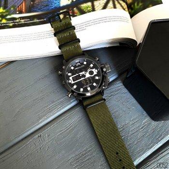 Годинники чоловічі Megalith 8051M Khaki-Black