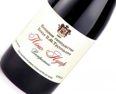 Вино Князь Трубецький Піно Нуар червоне лімітоване сухе 0.75 л 11-14% (4820149500430)