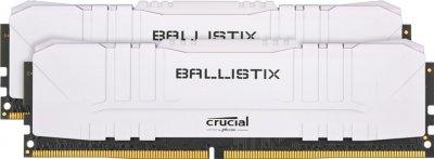 Оперативна пам'ять Crucial DDR4-3000 32768MB PC4-24000 (Kit of 2x16384) Ballistix White (BL2K16G30C15U4W)