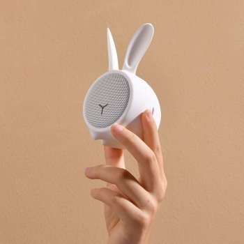 Портативна колонка Baseus Q Chinese Zodiac Wireless Rabbit E06 White (NGE06-A02)