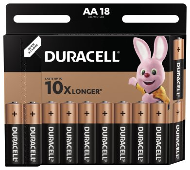 Батарейка Duracell LR06 MN1500 1х18 шт. (6409645)