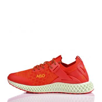Кроссовки спортивные мужские AL-A67-R Червоний