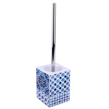 Йоржик для туалету SENSEA Mosaic керамічний блакитний (11797842)