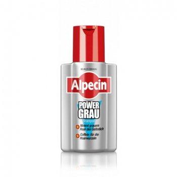 Шампунь Alpecin POWER Gray для тонирования седых волос 200 мл