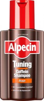 Шампунь Alpecin TUNING Braun для тонирования седины каштановых волос 200 мл