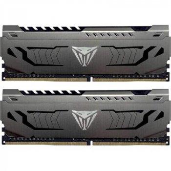 Модуль памяти для компьютера DDR4 16GB (2x8GB) 3200 MHz Viper Steel Patriot (PVS416G320C6K)