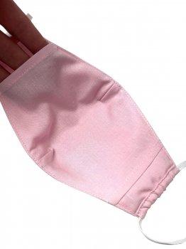 Маска хлопковая Sasha двухслойная Розовая (2000963629148)
