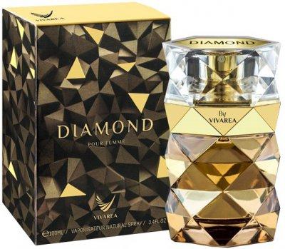 Парфюмированная вода для женщин Vivarea Diamond 100 мл (6291103667359)