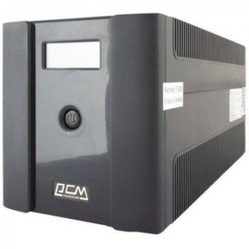 Джерело безперебійного живлення Powercom RPT-2000AP LCD SCHUKO